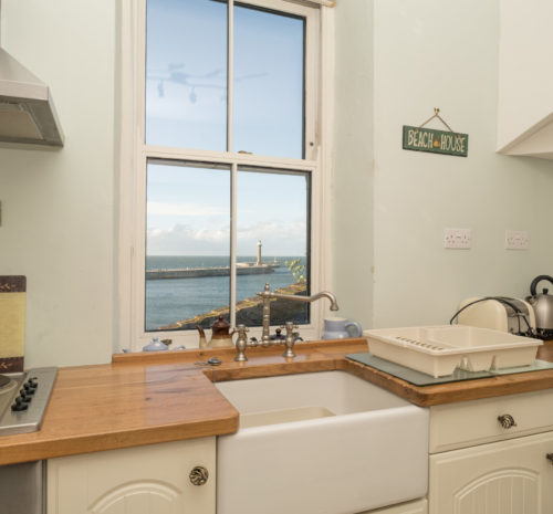 Cook's Cottage Whitby - Glorious view from kitchen window