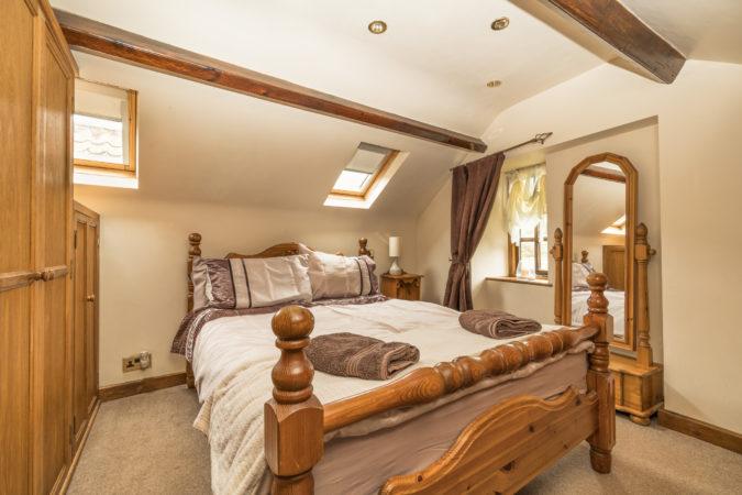 Howdale Cottage Flyingthorpe - Bedroom