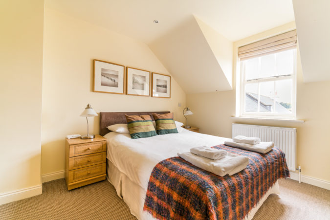 The Landings, Whitby. Double bedroom