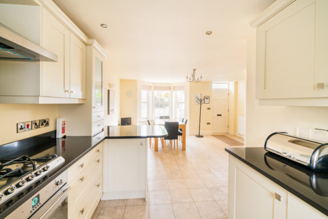 The Landings, Whitby. Large spacious kitchen