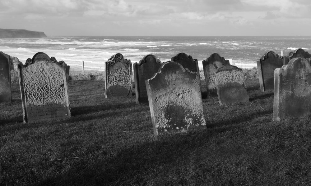Gravestones At Whitby Church
