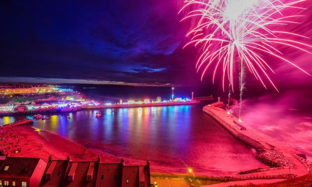 Regatta 2016 Fireworks at Night