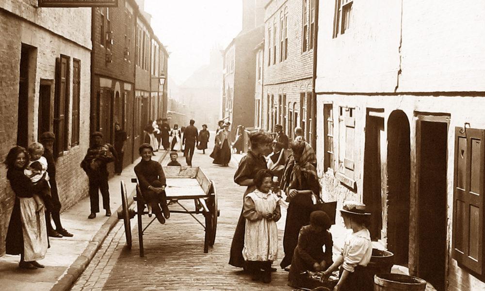 Whitby Henrietta Street Victorian period