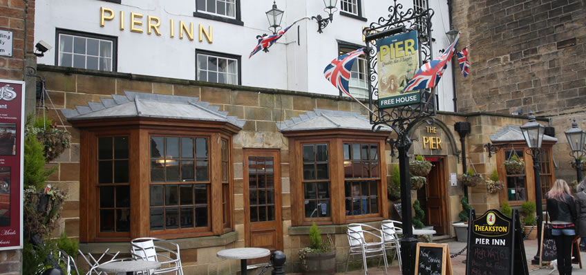 Dog friendly pubs in Whitby