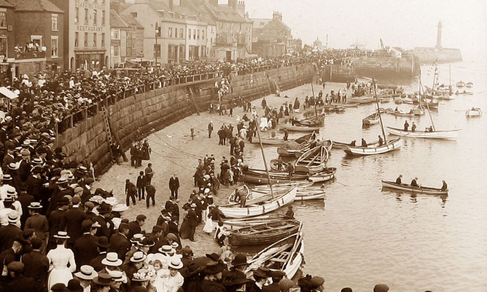 Whitby Regatta Victorian period