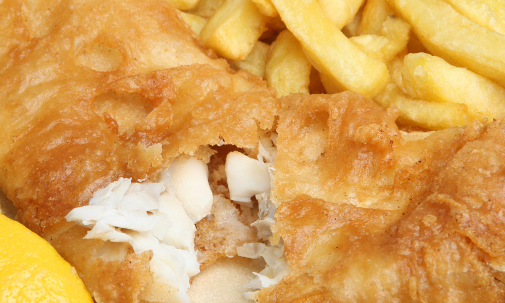 Fish and Chips Whitby