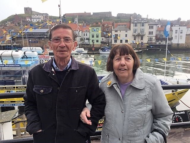 Whitby tourists