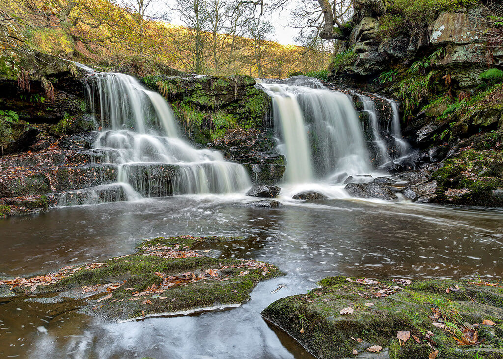 Waterfall in Beck Hole, Yorkshire