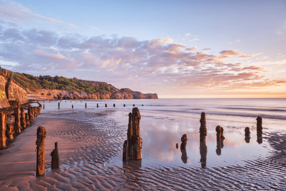 Sandsend to Whitby beach walk