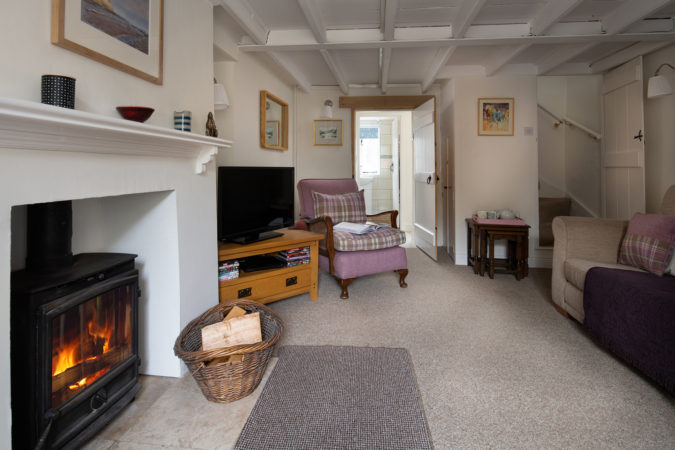 Very comfortable sitting room for those holiday evenings