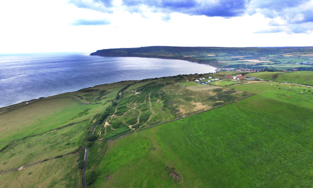 The Cinder Track from Whitby to Scarborough